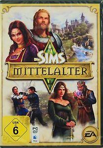 Die Sims- Mittelalter,PC-Spiel,KULTSPIEL,BAU DEIN KÖNIGREICH AUF,DVD-ROM