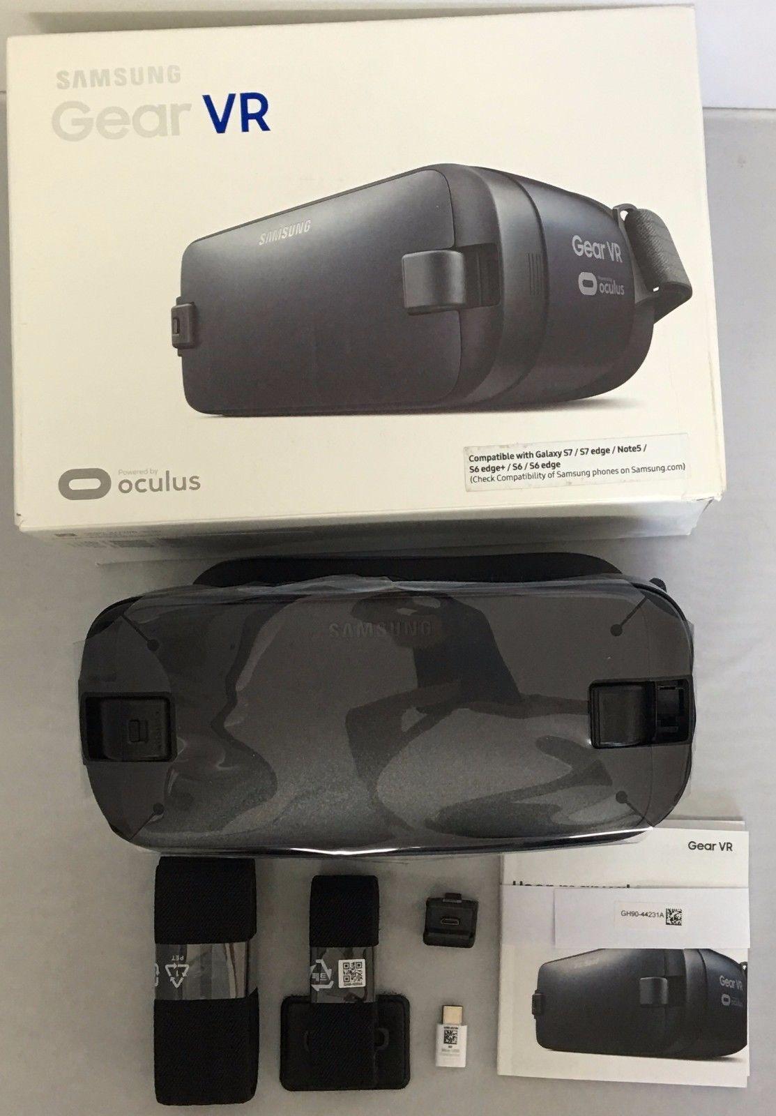 Samsung Gear VR 2 Oculus Virtual Reality Headset 2016 SM-R323 Blue / Black USB-C