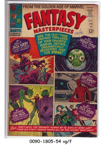 Fantasy Masterpieces #1 © February 1966 Marvel Comics