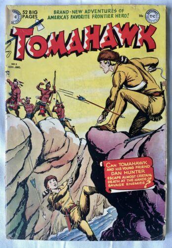 Golden Age Comic TOMAHAWK #2 1950 FRAZETTA Art! Scarce! GD-  1.8