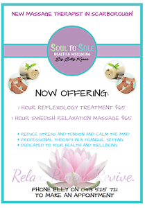 Soul to Sole Health and Wellbeing Scarborough Stirling Area Preview