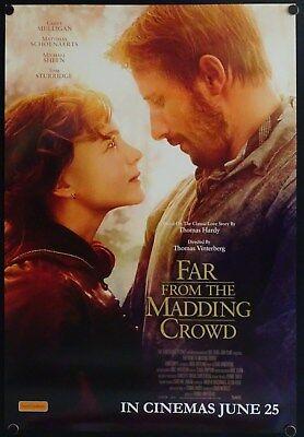 Far From The Madding Crowd (2015) Australian One Sheet CAREY MULLIGAN