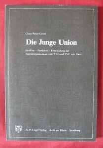 Claus-Peter Grotz: Die Junge Union (1983) - Wien, Österreich - Claus-Peter Grotz: Die Junge Union (1983) - Wien, Österreich