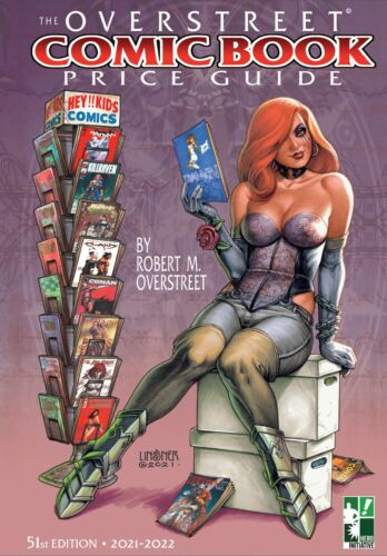 OVERSTREET COMIC BOOK PRICE GUIDE #51: JOSEPH LINSNER HERO INITIATIVE EXCLUSIVE