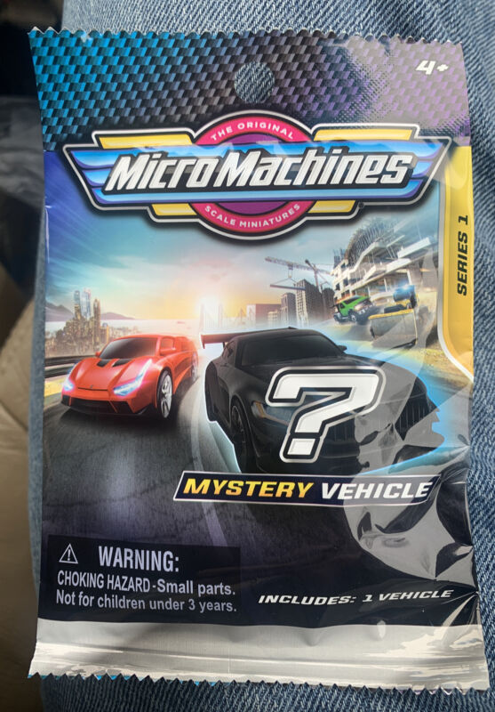 2020 Micro Machines Mystery Vehicle Blind Bag Series 1  ✅HURRY✅ Hard To Find