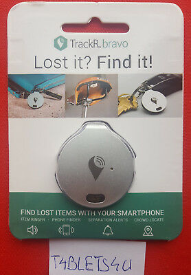 Trackr Bravo  Tracking Device  Lost It Find It Bluetooth Tracker