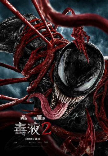 """VENOM - LET THERE BE CARNAGE 11""""x17"""" MOVIE POSTER PRINT #2"""