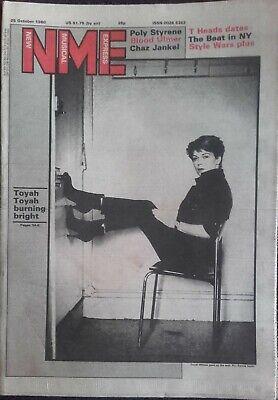 New Musical Express - 25 October 1980 - Blues Brothers, U2, Dire Straits, Toyah., usado comprar usado  Enviando para Brazil