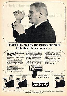 Eumig Viennette Super 8 Kamera (13) - Original Anzeige von 1966