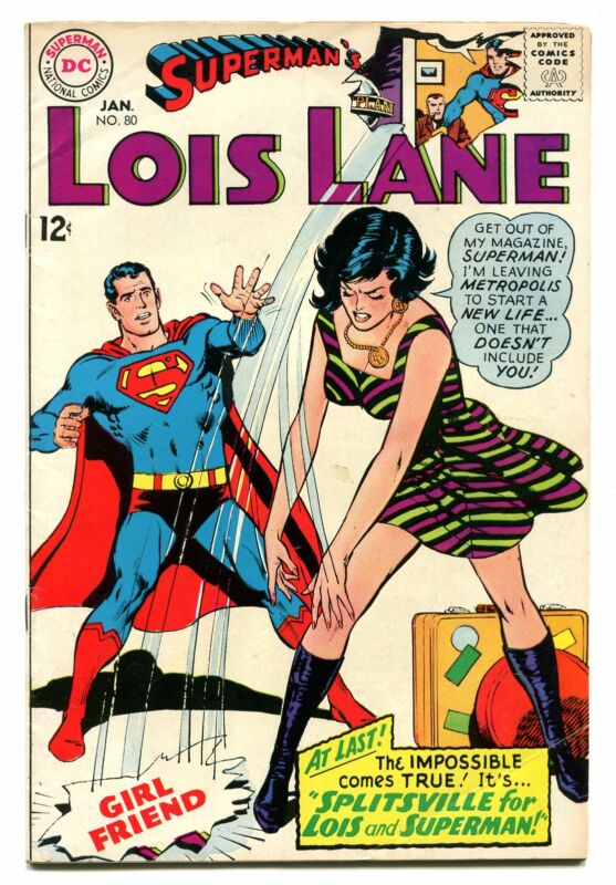 SUPERMANS GIRLFRIEND LOIS LANE # 80