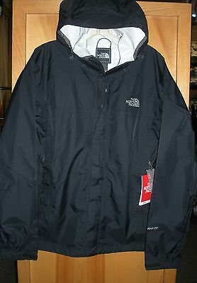 THE NORTH FACE MENS VENTURE 2 WATERPROOF JACKET -#A8AR- BLACK- S,M L,XL,XXL