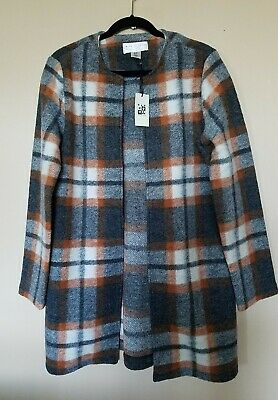 NWT MAX STUDIO Womens Wool Blend Cardigan Sweater Large To XLarge