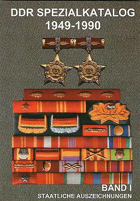 DDR Spezialkatalog 1949-1990 Band 1 Staatliche Auszeichnungen Orden Buch Barthel