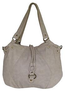 VOLCOM New AMUSED Ladies Shoulder Hand Bag Tote Handbag Natural
