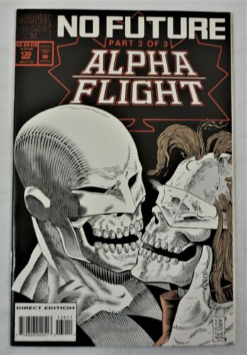 ALPHA FLIGHT #130 MAR 1994 Marvel Comics Direct Edition NM