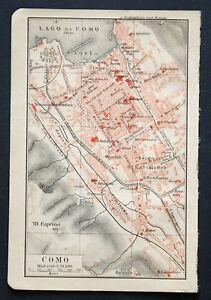 Antica-Stampa-Topografica-COMO-GRAVEDONA-BELLANO-LOMBARDIA-1907-Meyers
