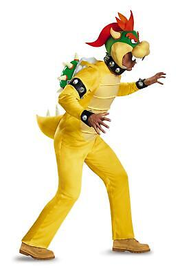 Super Mario Brothers: Bowser Mens Adult Costume XXL - Bowser Mario Brothers Kostüm