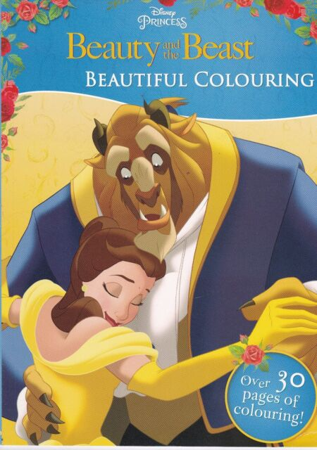 Beauty and the Beast Colouring Book, New