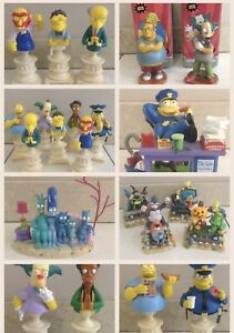 THE SIMPSONS BUSTS & MINI STATUES FIGURES
