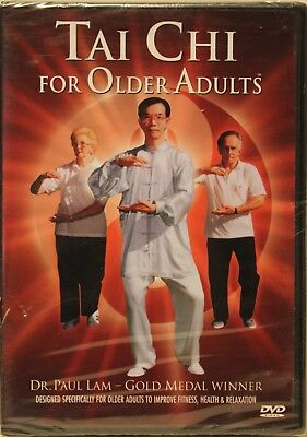 Tai Chi for Older Adults Dr. Paul Lan DVD senior workout exercise fitness