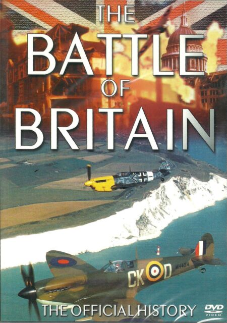 THE BATTLE OF BRITAIN - THE OFFICIAL HISTORY - BRAND NEW DVD- FREE UK POST