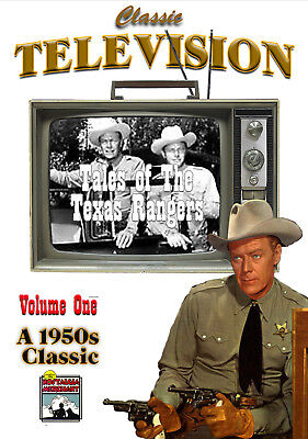 Tales Of The Texas Rangers   Vol  1   Classic Tv Shows