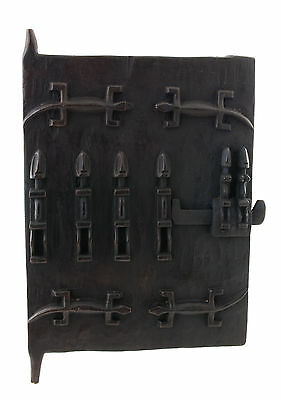 Door Dogon of Attic in Mil Mali 60x 38 cm Art African 1070 Gar