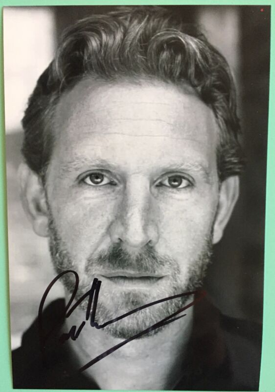 """Paul Thornley Signed B&W Photo 4""""X6  Harry Potter and the Cursed Child  Broadway"""