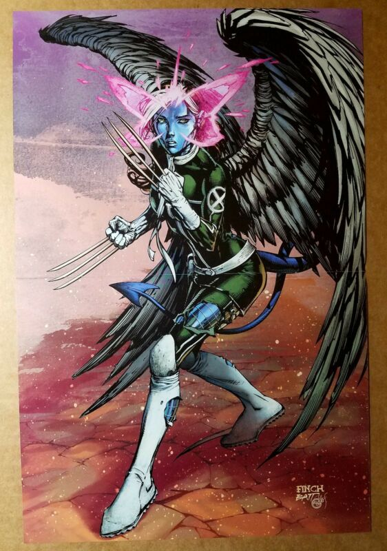 Rogue Powers X-Men Wolverine Angel Psylocke Marvel Comics