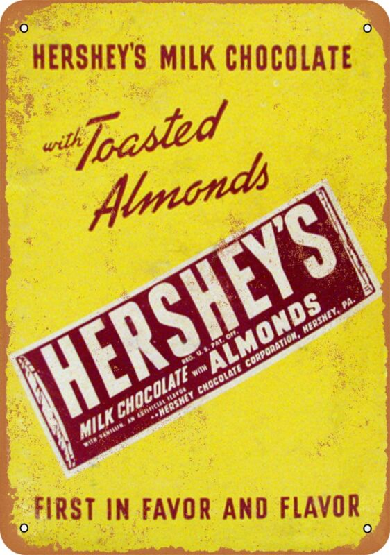 Metal Sign - Hershey