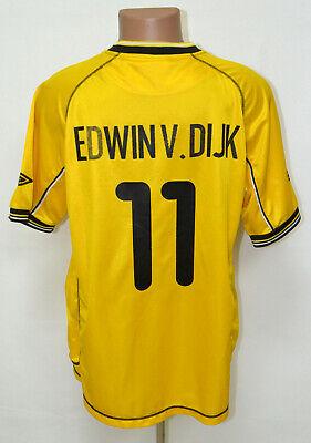 RODA JC HOLLAND 2003/2004 HOME FOOTBALL SHIRT JERSEY UMBRO EDWIN V. DIJK #11 image