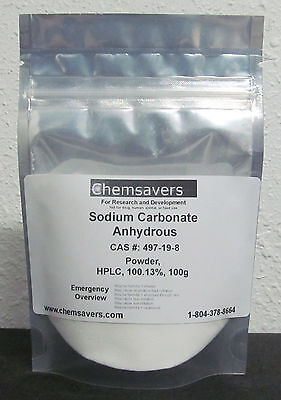 Sodium Carbonate Anhydrous Powder Hplc 100.13 Certified 100g
