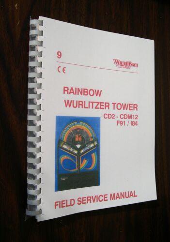 German Wurlitzer Rainbow CD Jukebox Manual