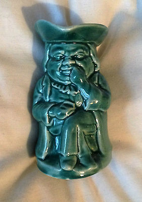SNUFFY - BURLINGTON - GREEN - COLLECTABLE TOBY JUG - IN EXCELLENT CONDITION