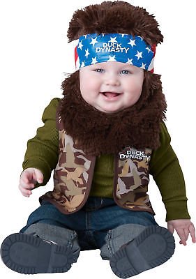 Duck Dynasty Baby Willie Toddler Costume Boys Vest Infant Theme Party Halloween (Duck Dynasty Halloween Costumes Toddler)