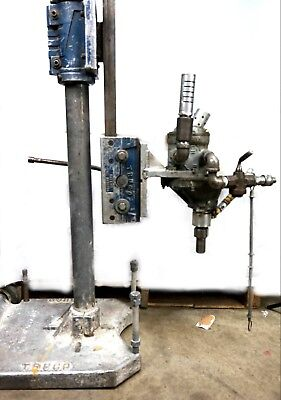 Ingersoll Rand Diamond Core Drill 58 H 14 Holes Multi Vane Motor W Truco Stand