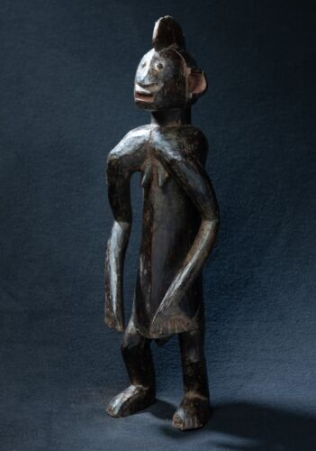 Chamba Zoomorphic Figure, Southern Benue River, Nigeria, West African Tribal Art