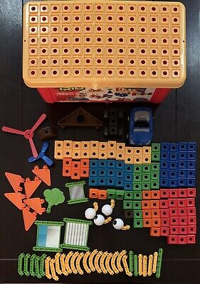 Trio Blocks by Fisher Price Over 100 Pieces