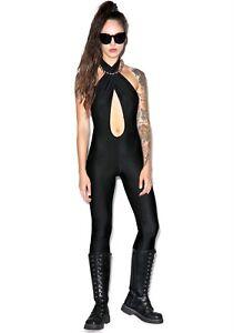Black jumpsuit/catsuit Dollskill