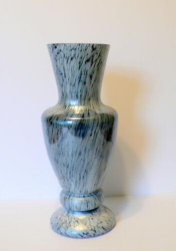 "Scarce Art Nouveau KRALIK Silver ""PAPILLON"" Bohemian Czech  Art Glass Vase"