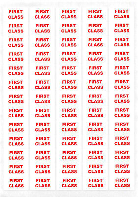 650+ - 1st First Class Sticky Labels Small Stickers Post Details Postal Service