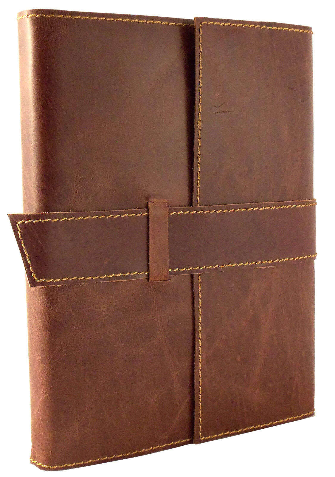 Refillable Leather Journal Sketchbook Travel Notebook Blank Diary Vintage Rustic 8