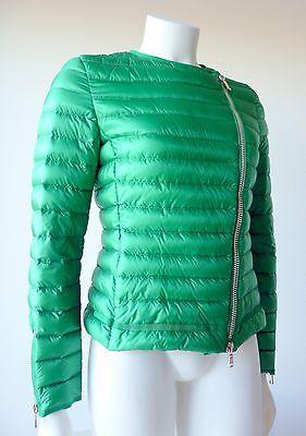 Moncler 100% authentique doudoune verte printemps veste blouson femme 38