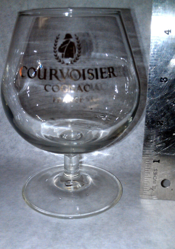 Courvoisier Cognac France extremely rare Snifter Glass Collectible New