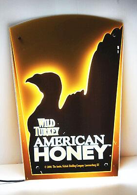 American Honey Whiskey - Wild Turkey American Honey Neon Light Wall Sign 23