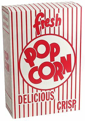 Popcorn Boxes 2.8 Oz. Close-top Cardboard Theaterstadium - 50 Pieces