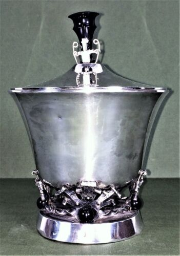 JAR. SILVER. WITH PUNCH OF BARCELONA. ART DÉCO STYLE. SPAIN. CIRCA 1920
