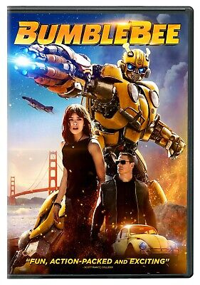 Bumblebee (DVD, 2019 - Transformers Franchise) New & Sealed FREE Ship!