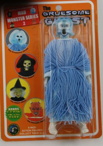 """MAD MONSTERS SERIES THE GRUESOME GHOST 8"""" ACTION FIGURE, FIGURES TOY COMPANY"""