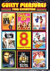 8 CLASSIC 80'S FILMS TUFF TURF - ROBERT DOWNEY JR. GIRLS JUST WANNA HAVE FUN +R1